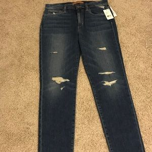 NWT Joes jeans The Charlie high rise skinny ankle